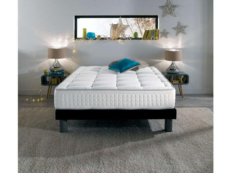 matelas ressorts 140x190 cm nightitude premium tuft ferme matelas conforama ventes pas. Black Bedroom Furniture Sets. Home Design Ideas