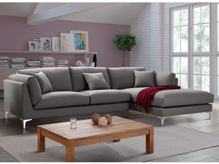 canap d 39 angle flake en tissu canap vente unique ventes pas. Black Bedroom Furniture Sets. Home Design Ideas