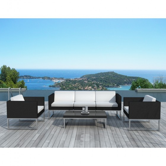 salon de jardin design malaga atilya salon de jardin atylia ventes pas. Black Bedroom Furniture Sets. Home Design Ideas
