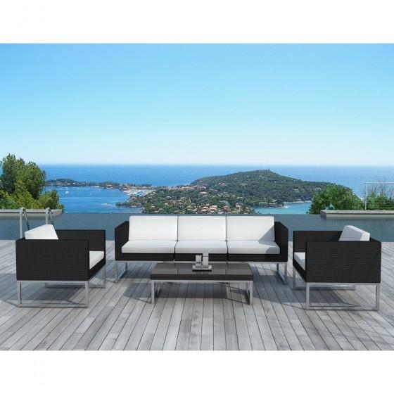 salon de jardin design malaga atilya salon de jardin atylia ventes pas. Black Bedroom Furniture Sets. Home Design Ideas